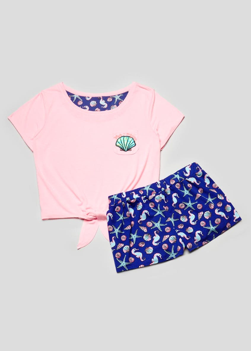 Mermaid Short Pyjama Set