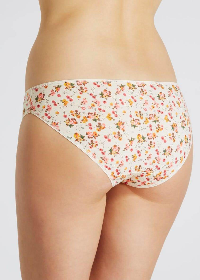 5 Pack Floral Mini Knickers