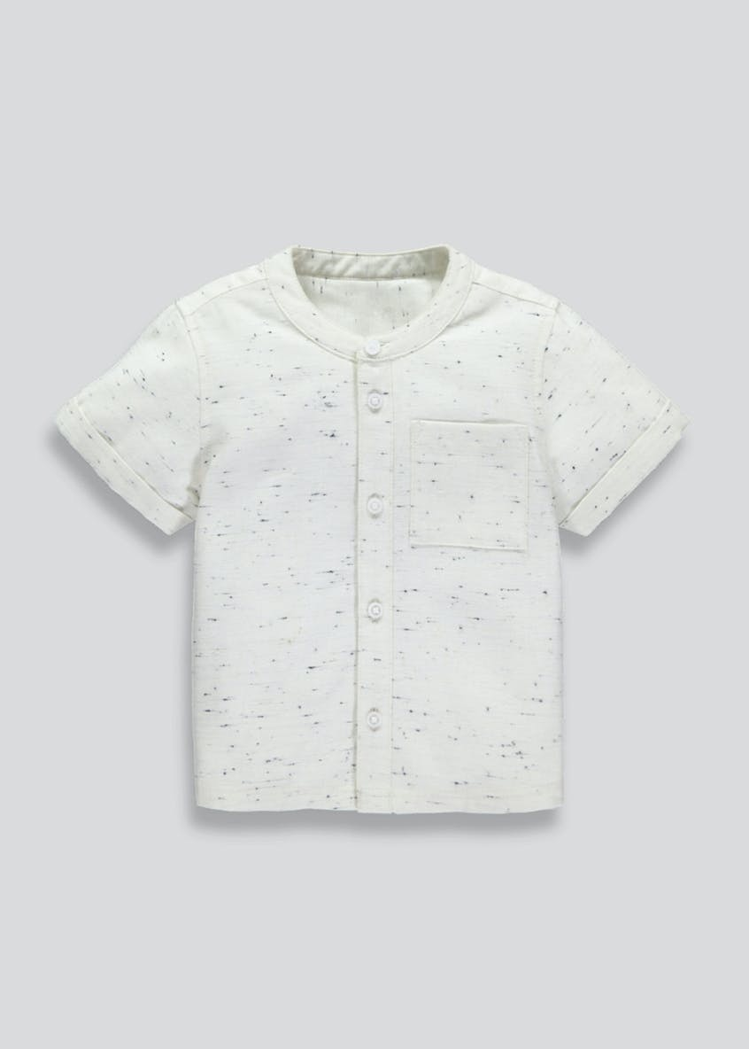 Boys Premium Grandad Collar Shirt (3mths-5yrs)