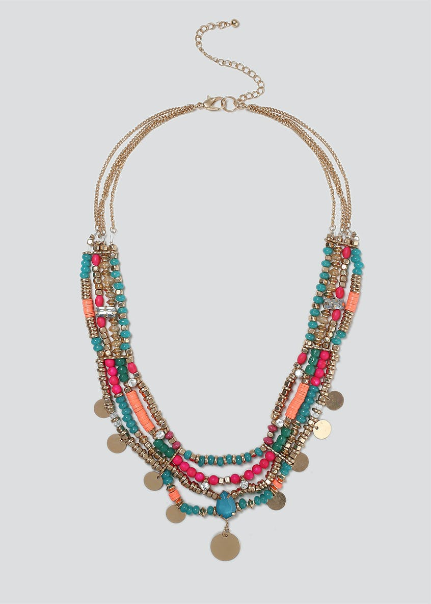 Beaded Statement Collar