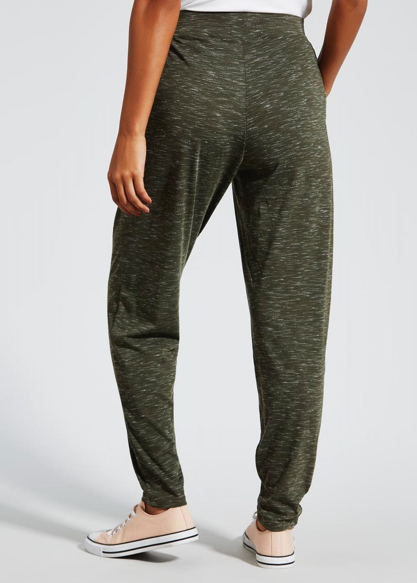Textured Harem Trousers
