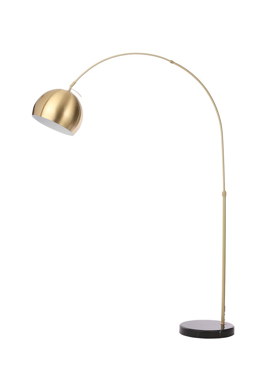 Helene Arc Floor Lamp (H180cm x W28cm)