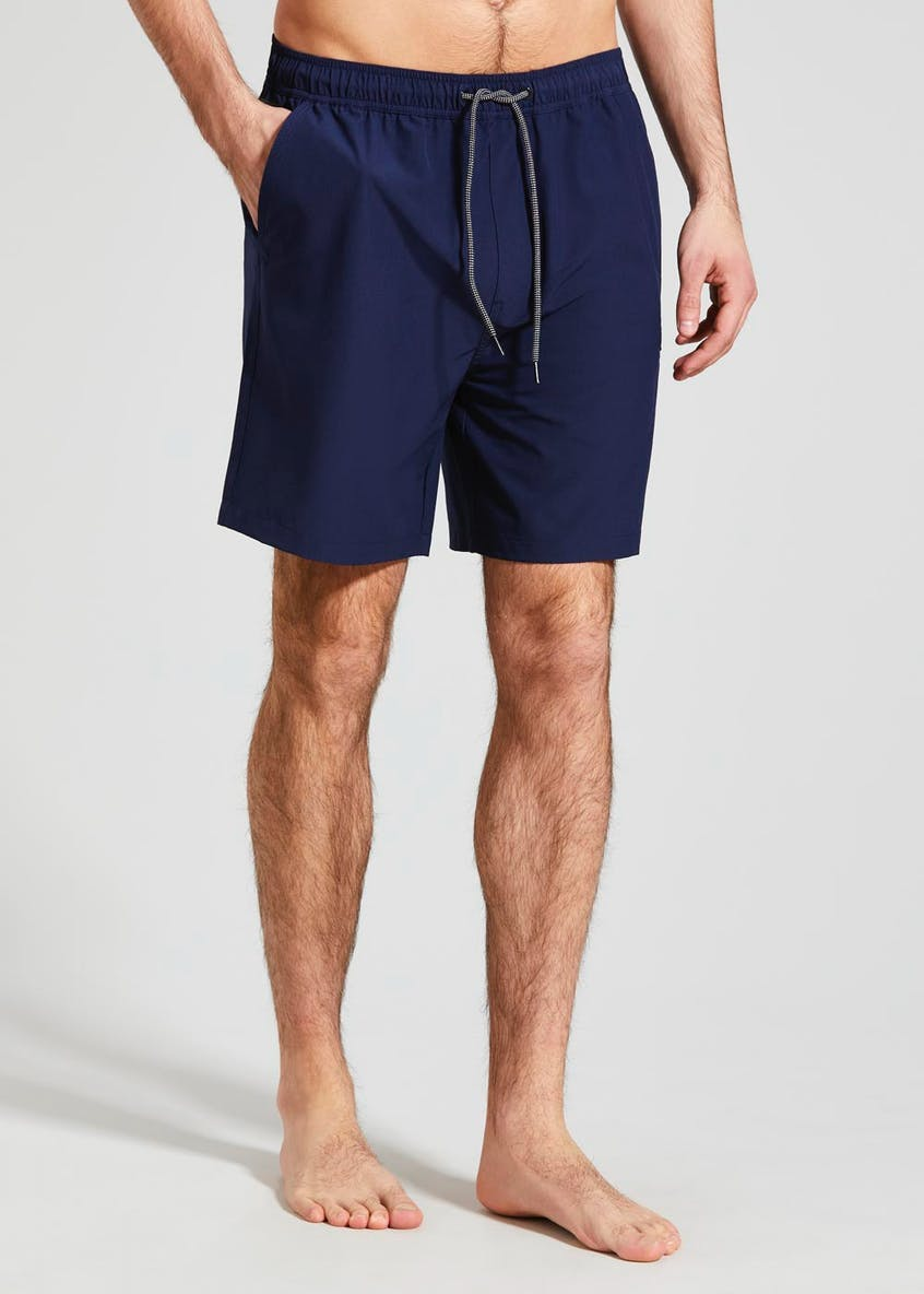 Mid Length Ripstop Swim Shorts