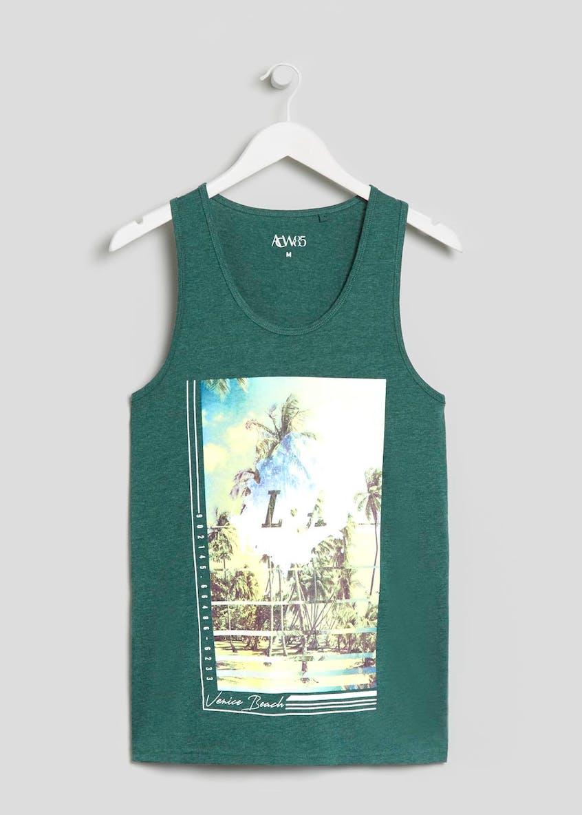 LA Palm Tree Graphic Vest