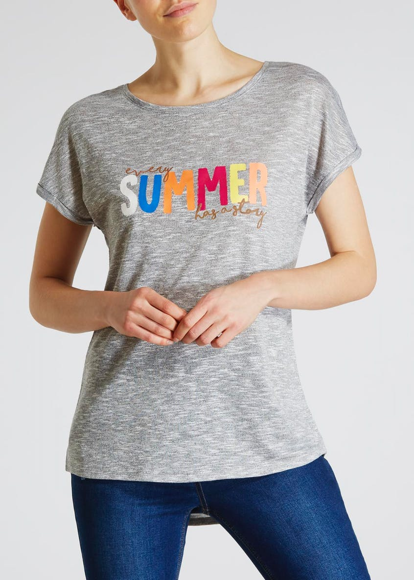 Summer Slogan T-Shirt