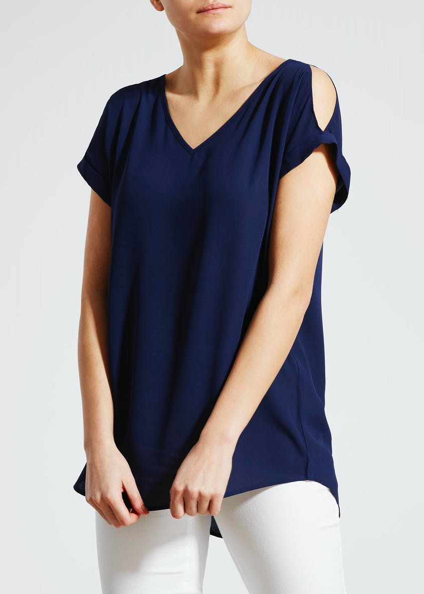 Cold Shoulder Box Top