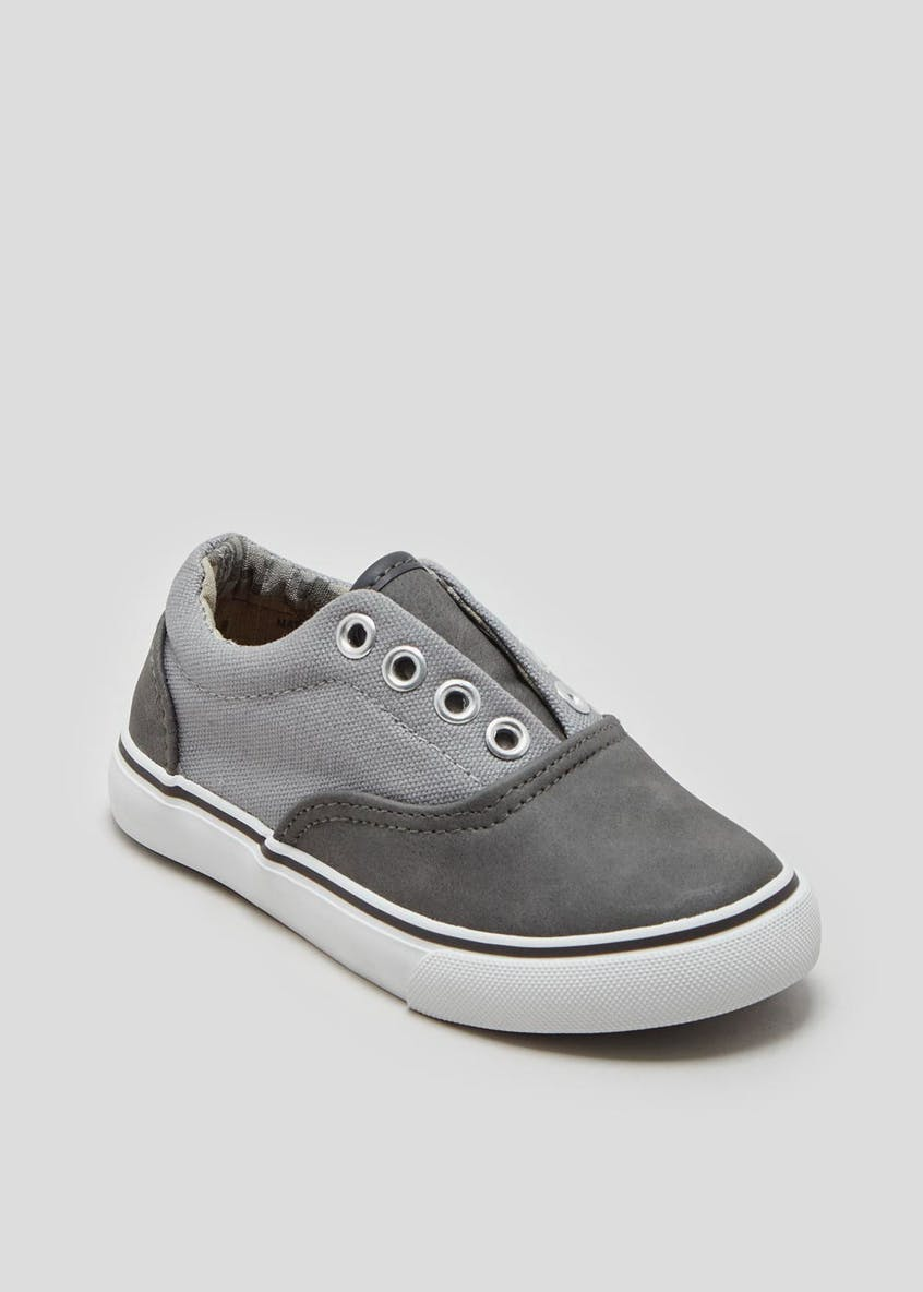 Boys No Lace Pumps (Younger 4-12)