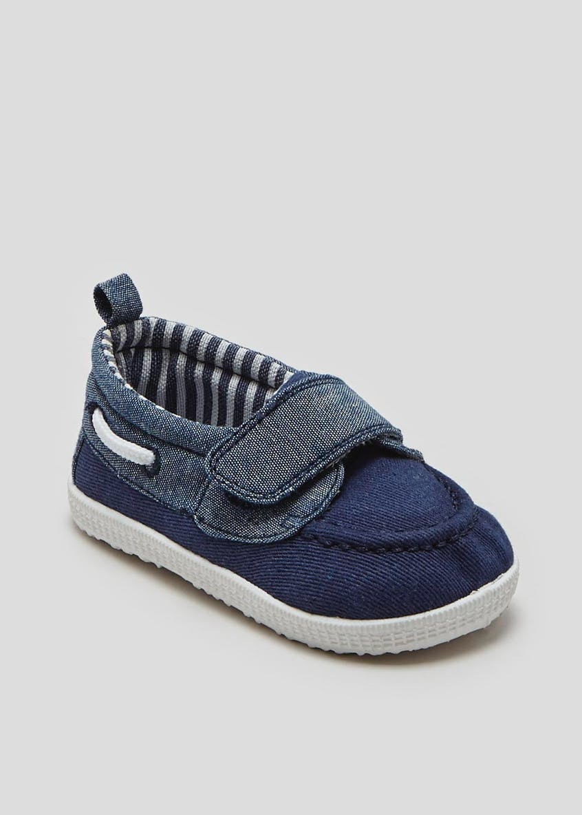 Boys Soft Sole Pre-Walker Baby Boat Shoes (Newborn-18mths)