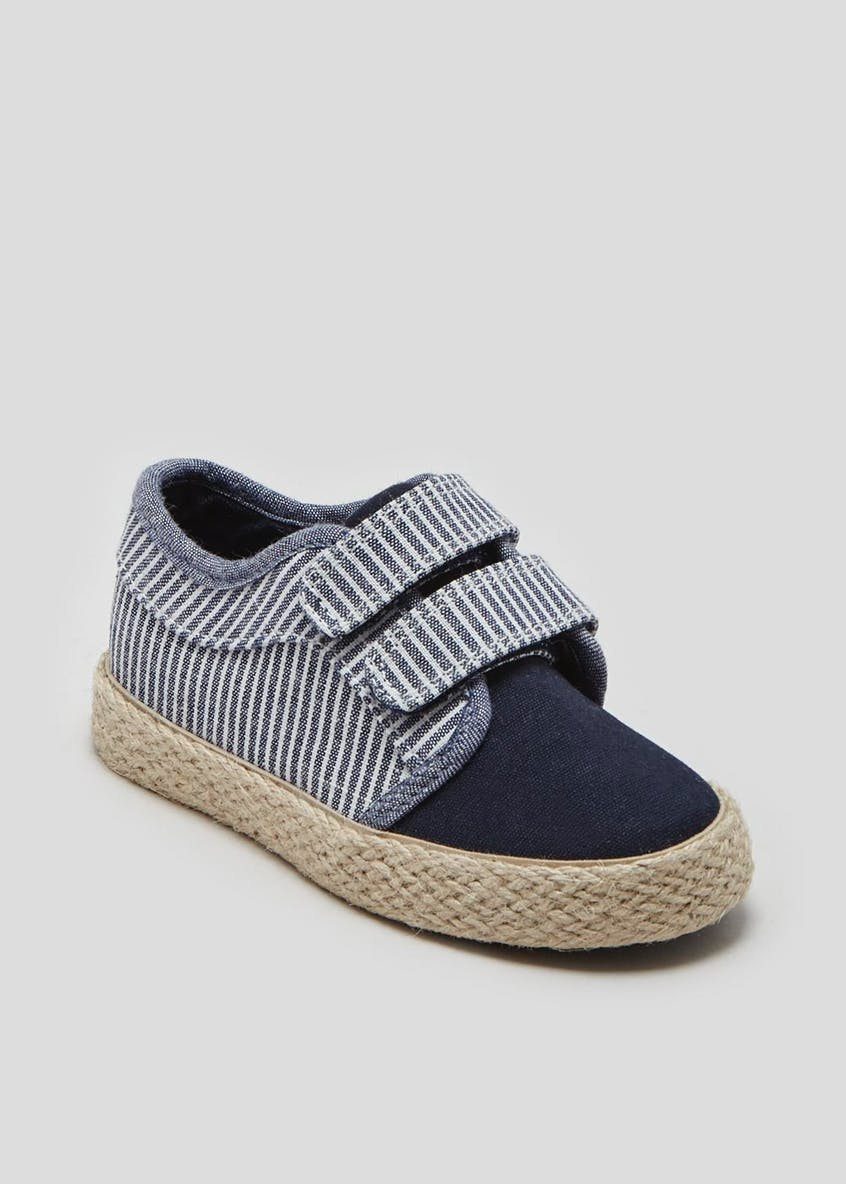 Boys Riptape Espadrille Pumps (Younger 4-12)