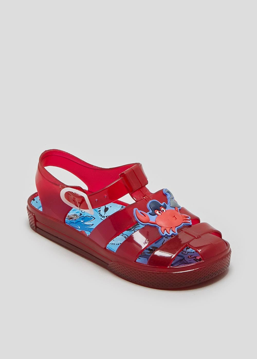 44f6cb89fbb Boys Crab Jelly Sandals (Younger 4-12) – Red – Matalan