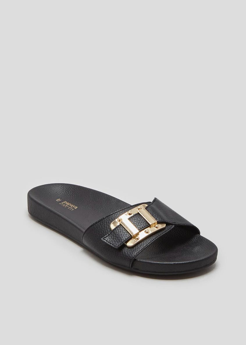 Wide Fit Buckle Sliders