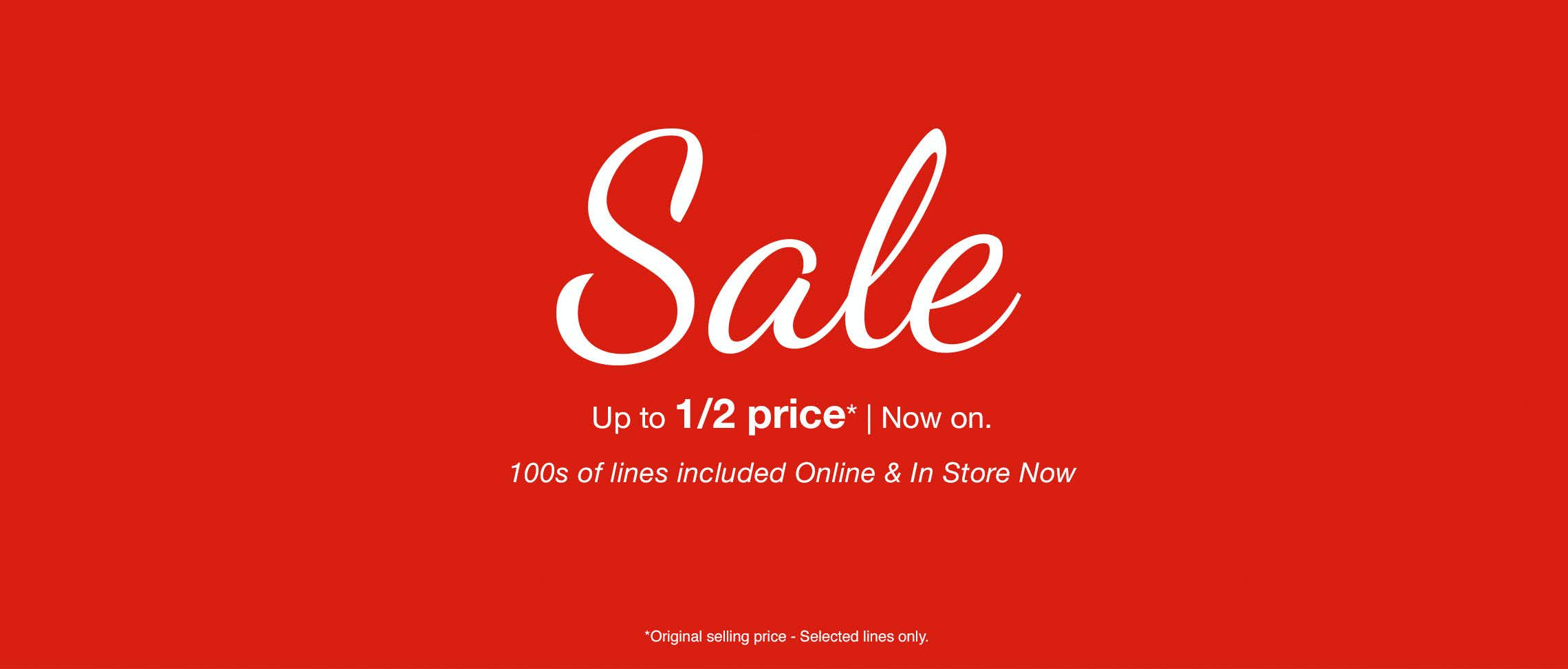 Matalan sale up to 50 off sale now on matalan for Online retailer for sale