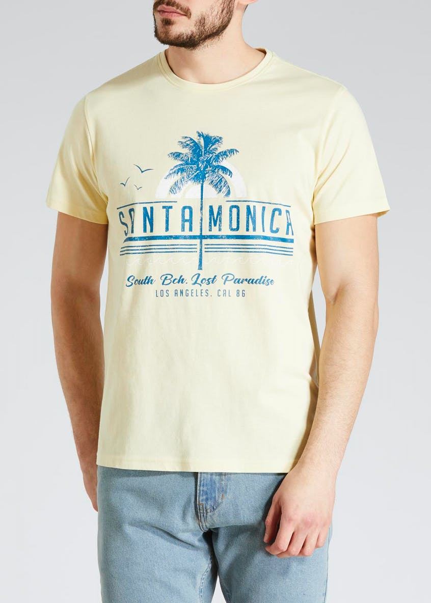 Big & Tall Santa Monica Graphic T-Shirt