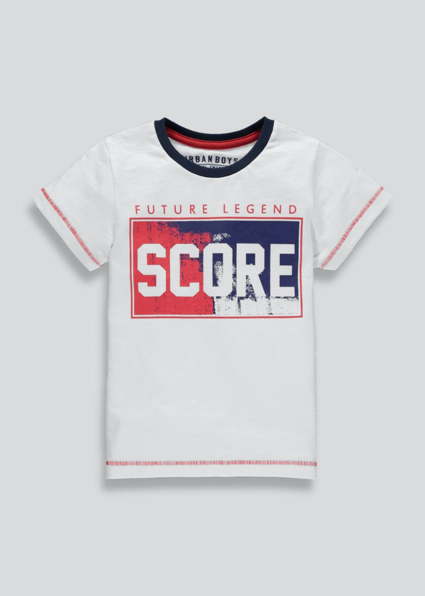 Boys World Cup Football Score T-Shirt (4-13yrs)