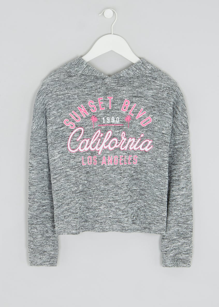 Girls Candy Couture Love Slogan Sweatshirt (9-16yrs)