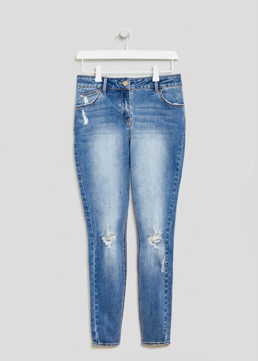 April Super Skinny Distressed Jeans