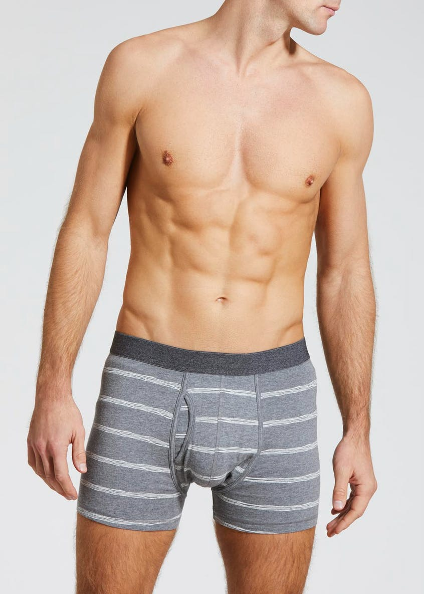 3 Pack Stripe Keyhole Trunks