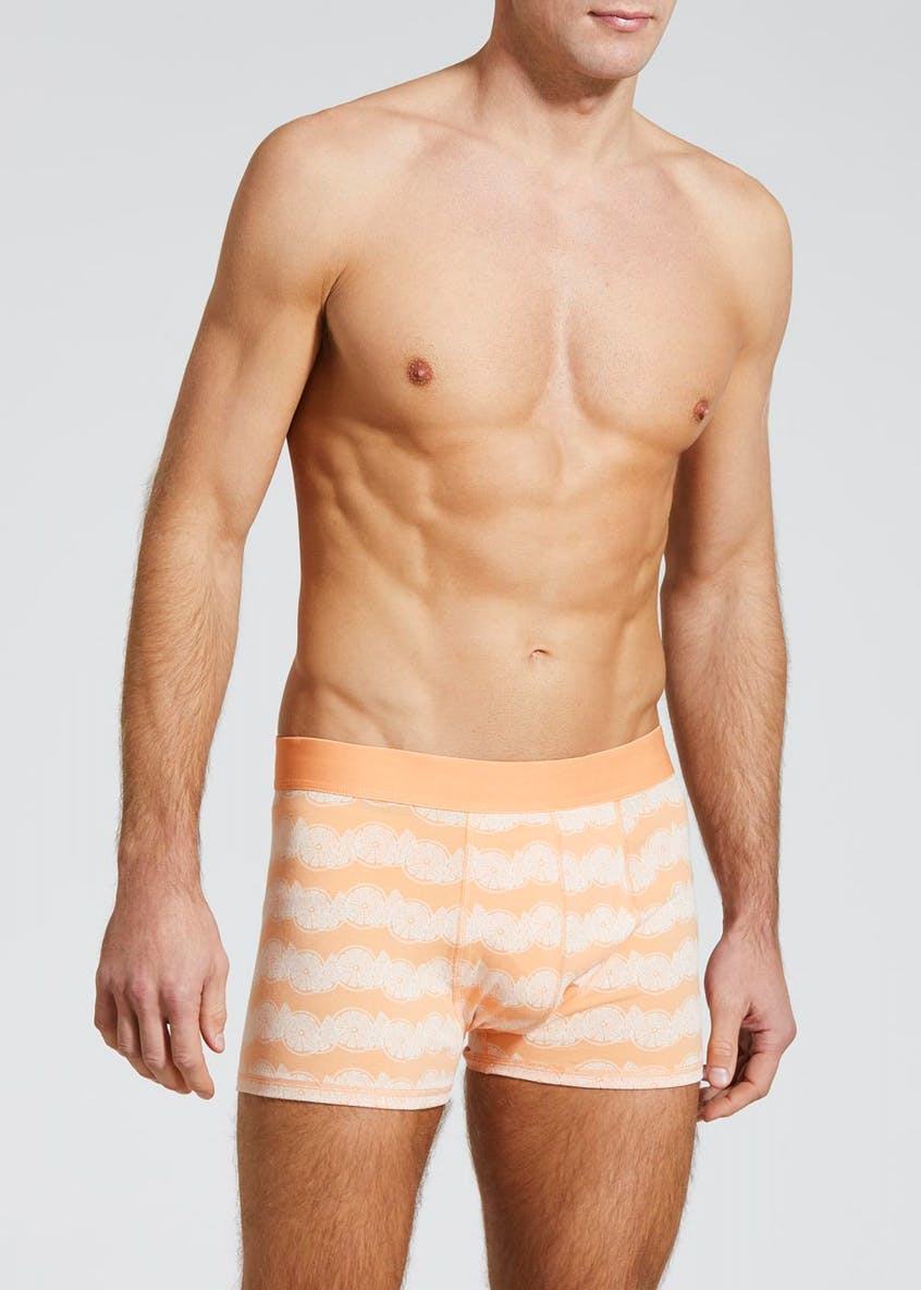 Printed Hipster Trunks