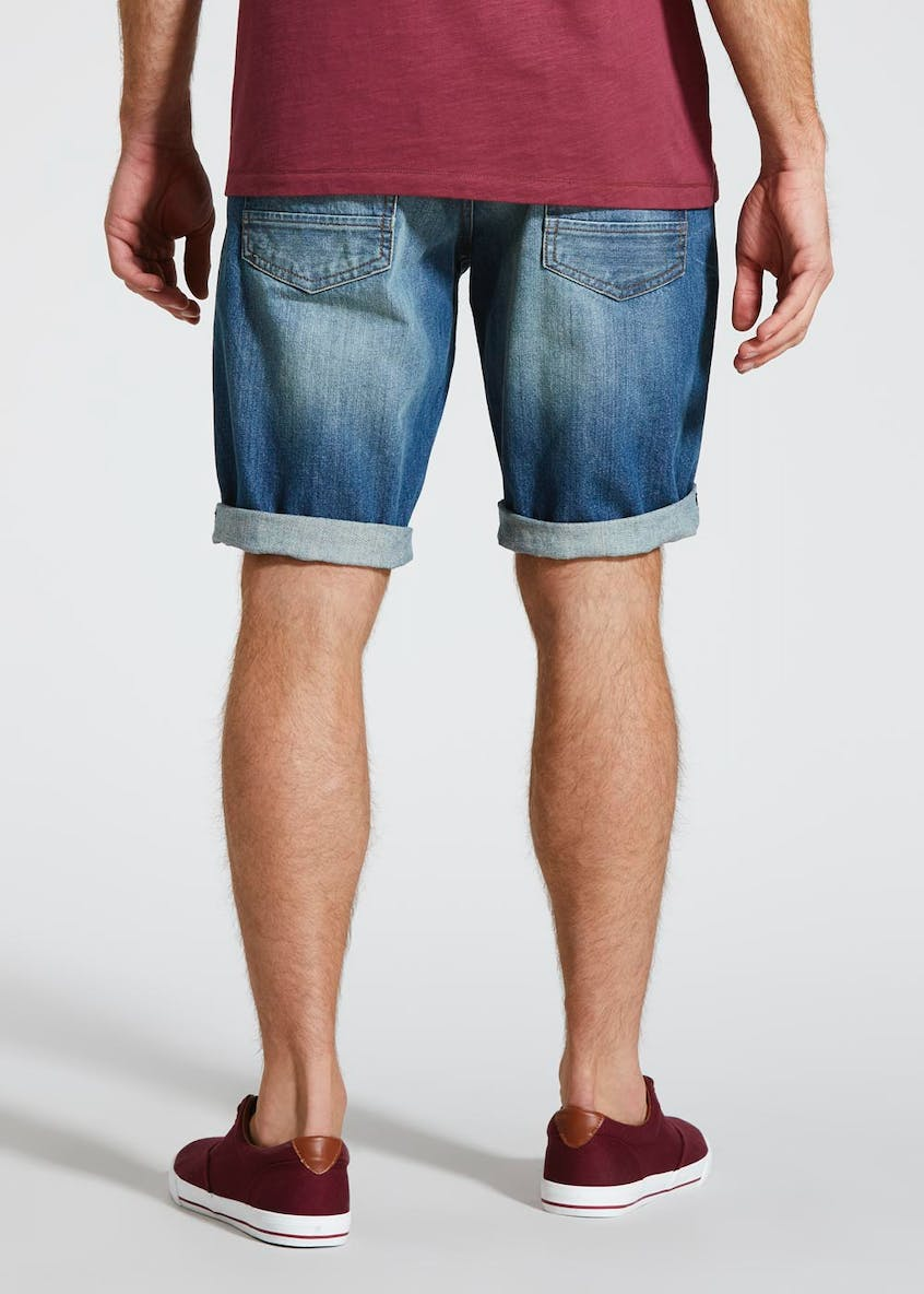 Rip & Repair Denim Shorts