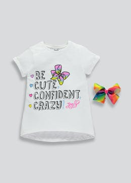 Kids JoJo T-Shirt & Bow (4-11yrs)