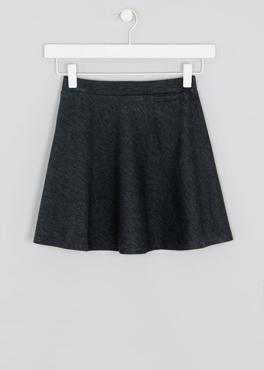 Girls Jersey Skater School Skirt (4-13yrs)