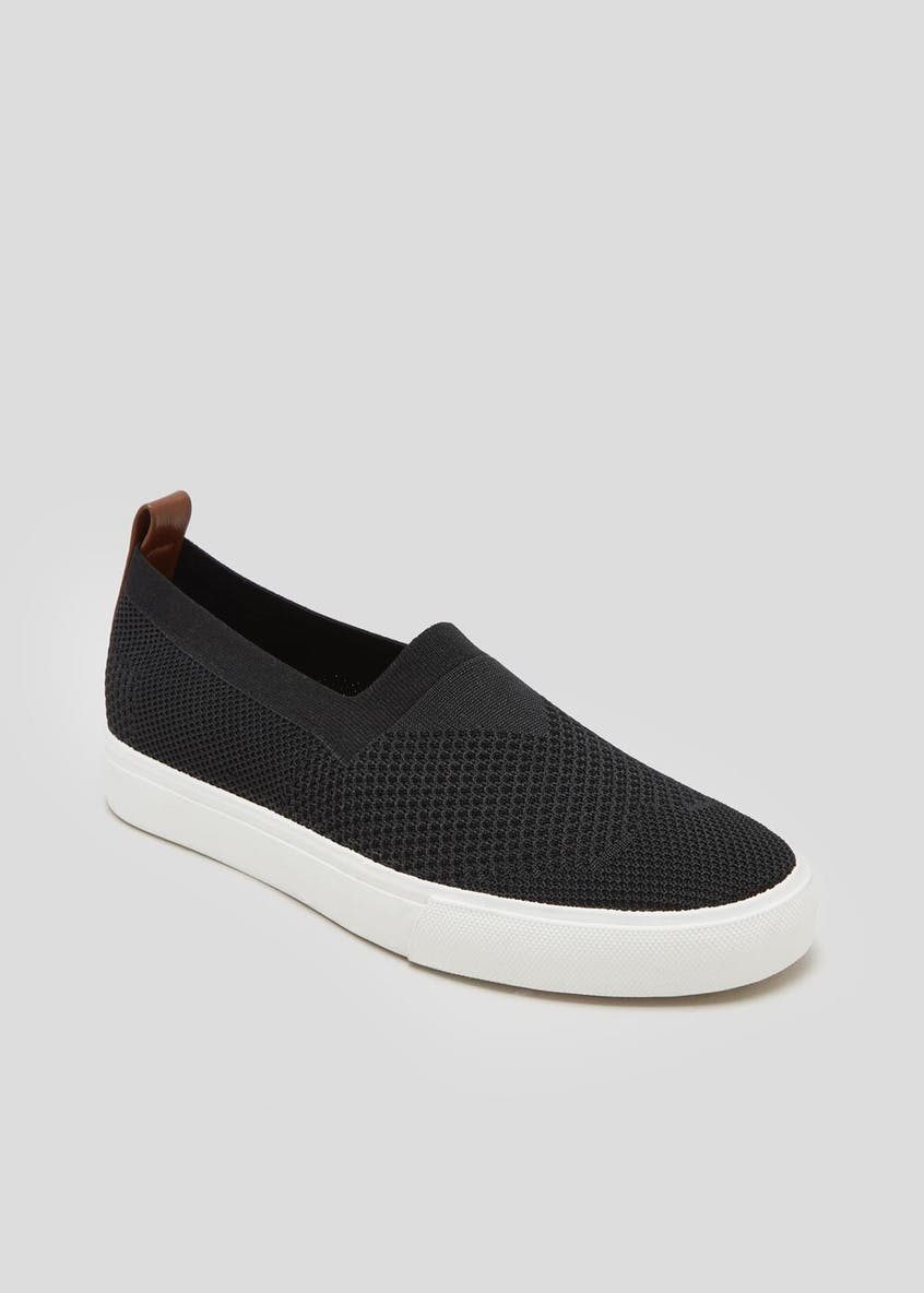 Mesh Slip On Pumps
