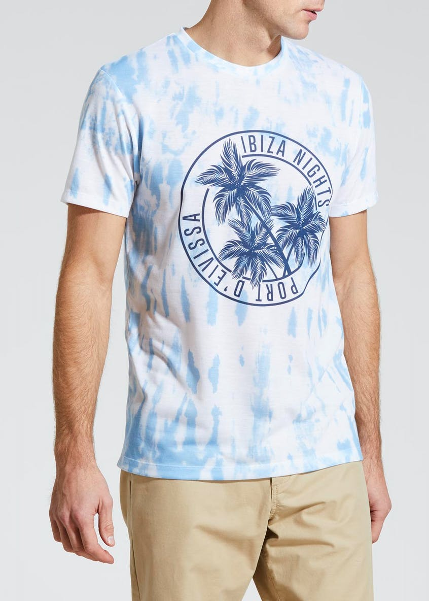 Tie Dye Sublimation T-Shirt