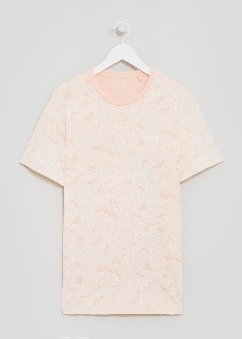 Big & Tall Floral T-Shirt