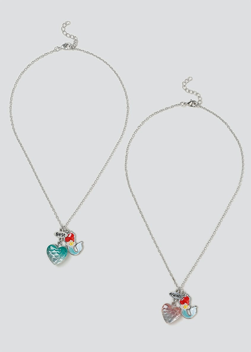 Disney Ariel BFF Necklace Set