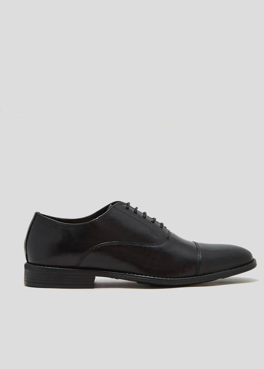 Taylor & Wright Real Leather Toe Cap Oxford Shoes