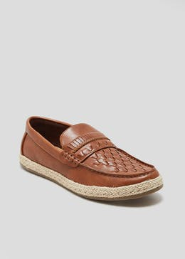 Jute Slip On Shoes