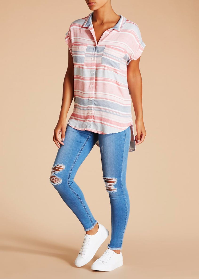 Falmer Stripe Short Sleeve Shirt