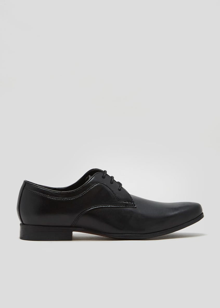 Real Leather Lace Up Shoes