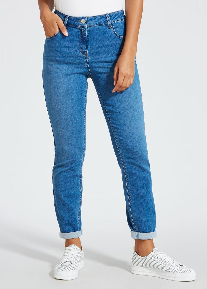 Jolie Knitted Relaxed Skinny Jeans