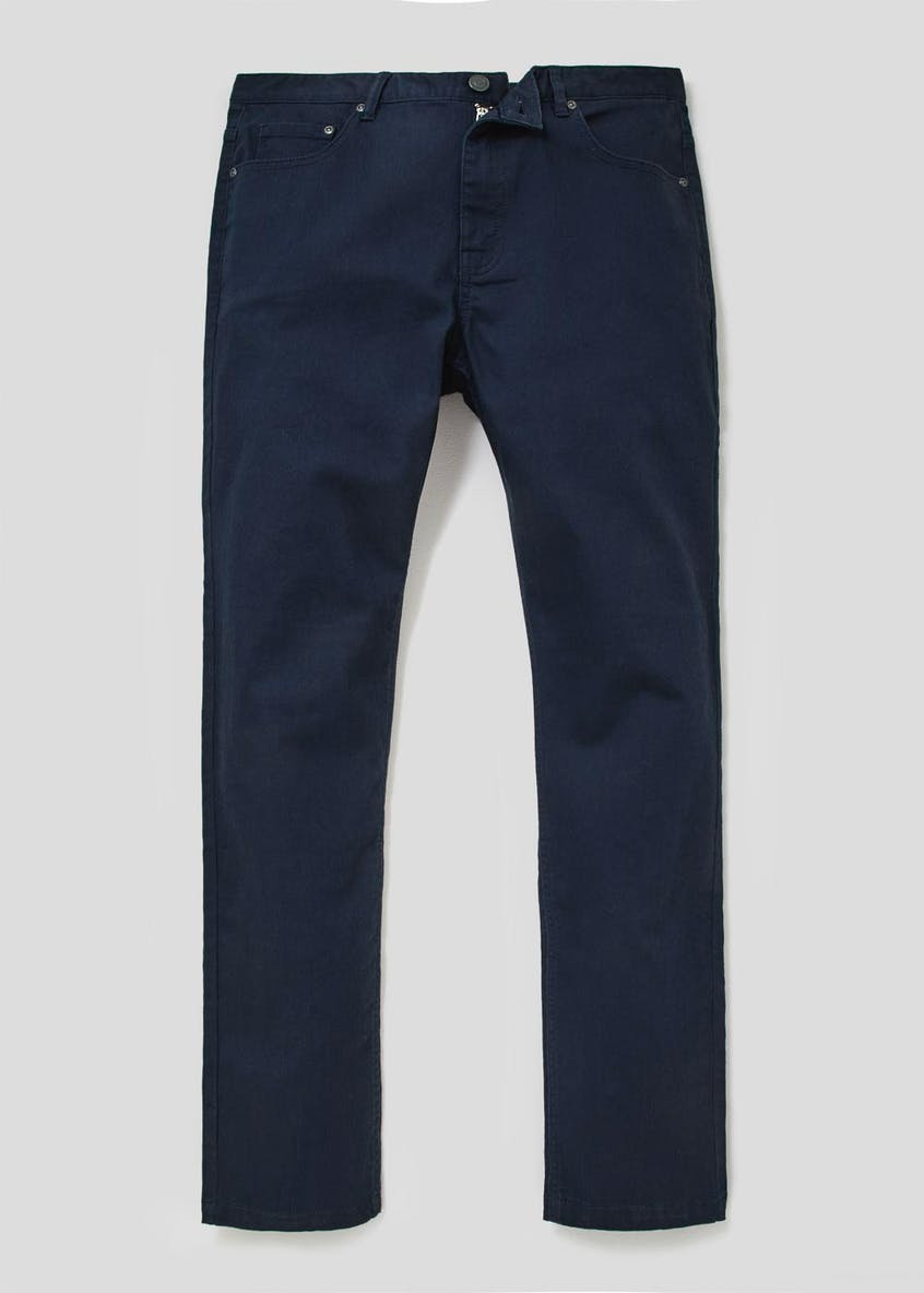 5 Pocket Stretch Twill Trousers
