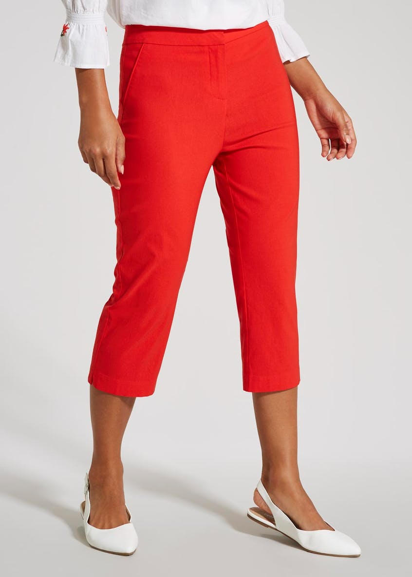 Cropped Bengaline Trousers