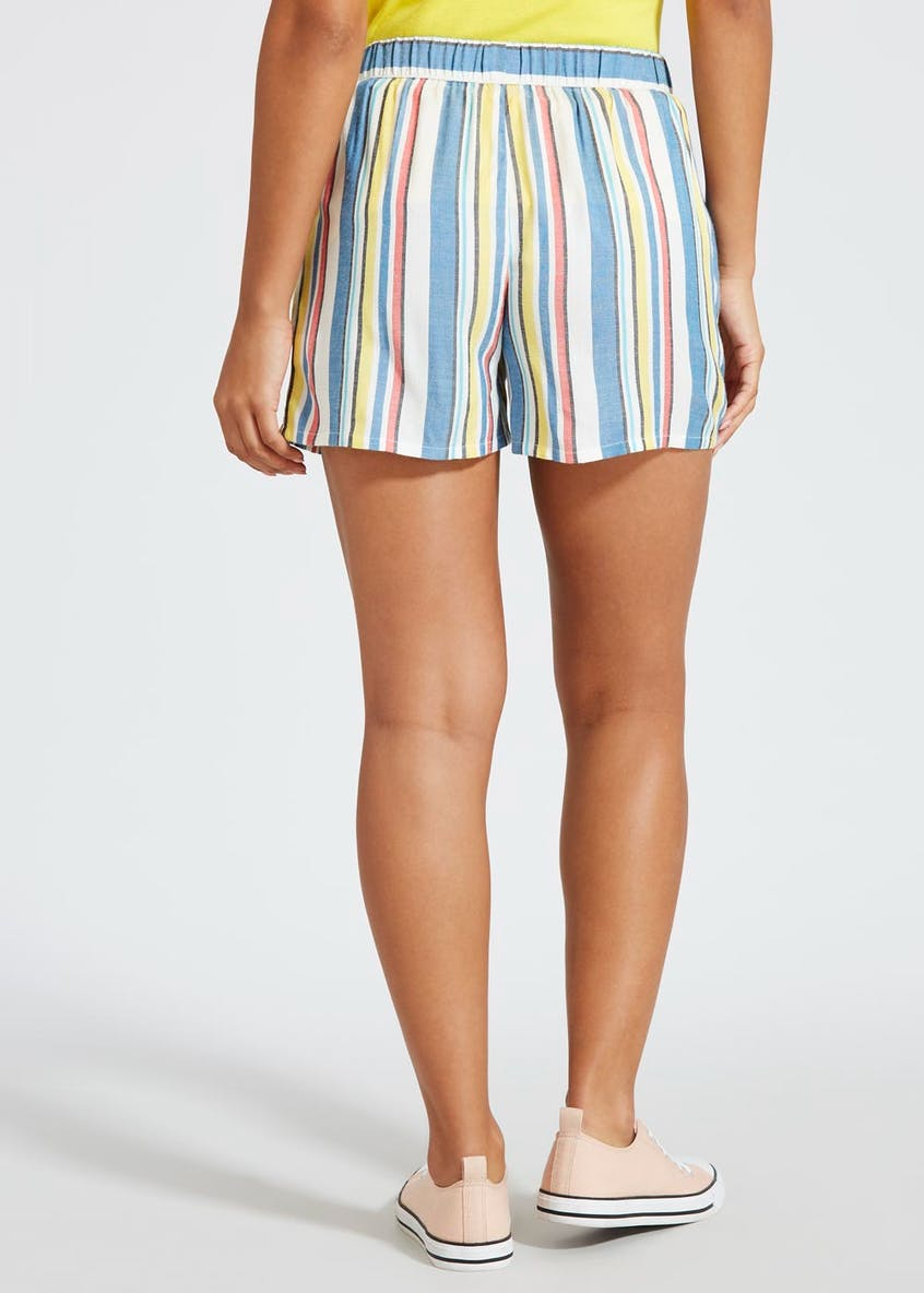 Rope Tie Stripe Shorts