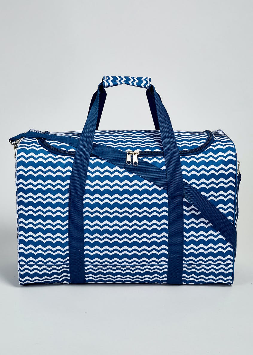 Wave Print Family Size Cool Bag (45cm x 30cm x 20cm)