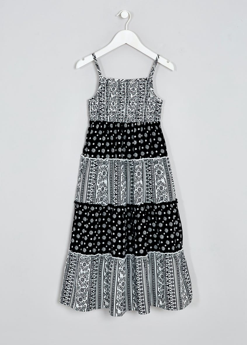 Girls Tiered Maxi Dress (4-13yrs)