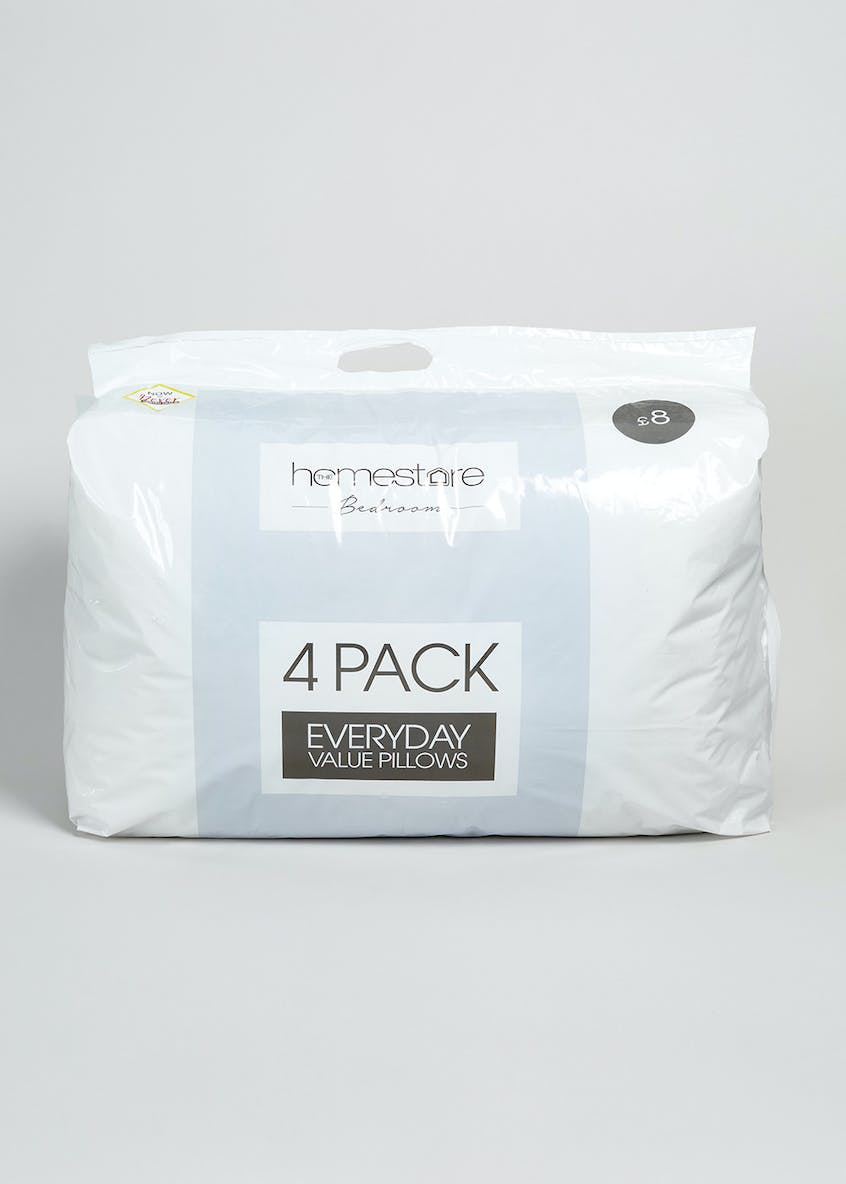 4 Pack Everyday Value Pillows