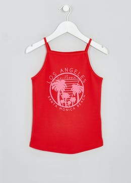 Girls Candy Couture LA High Neck Vest (9-16yrs)