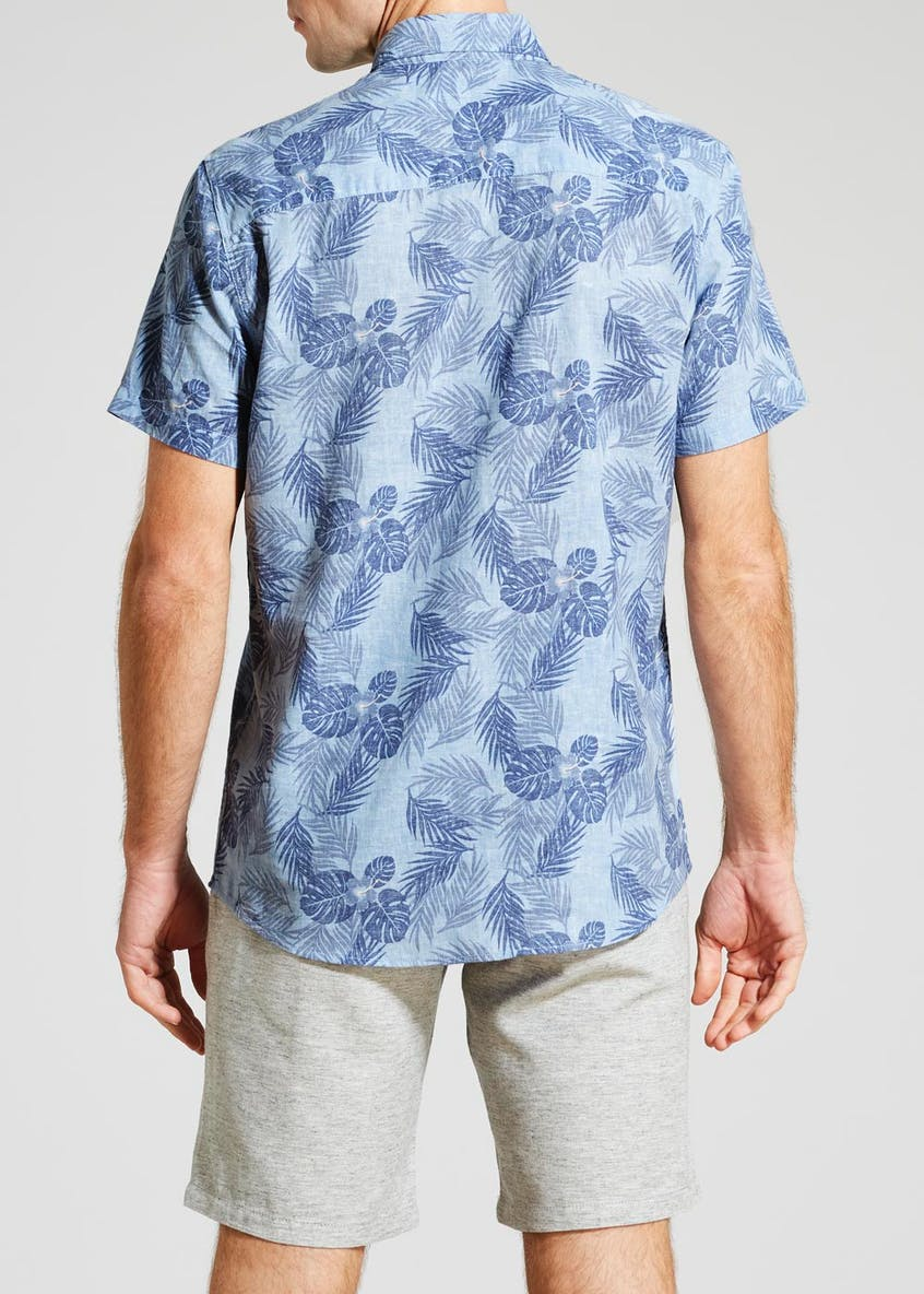 Short Sleeve Floral Shirt