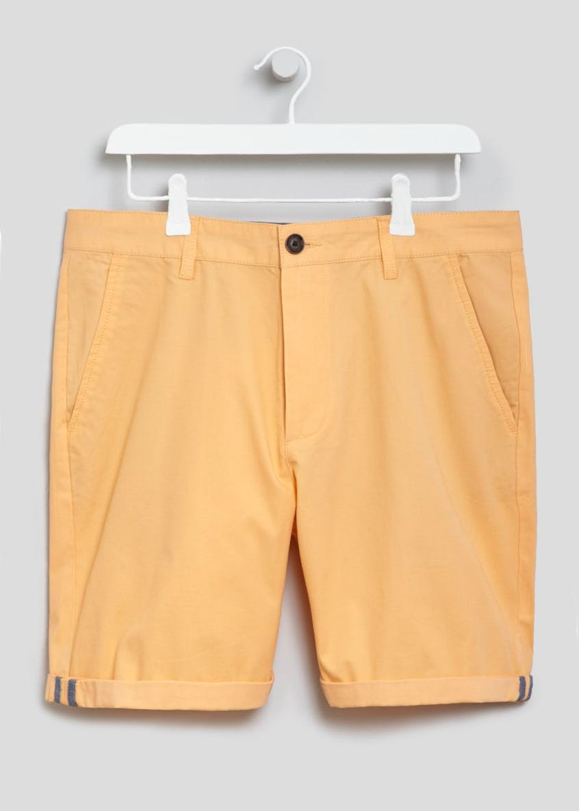 Straight Fit Chino Shorts