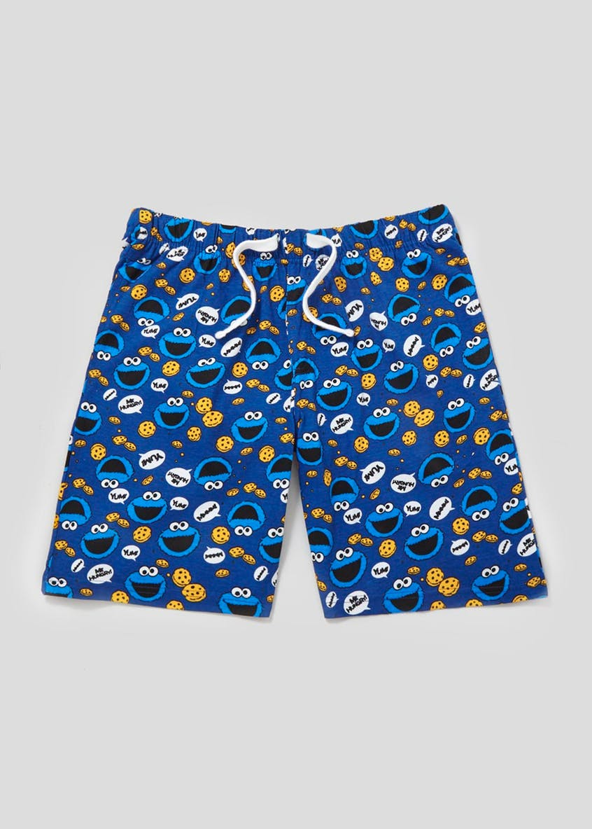 Cookie Monster Pyjama Shorts