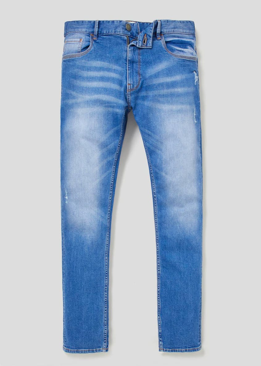 Rip & Repair Stretch Skinny Jeans