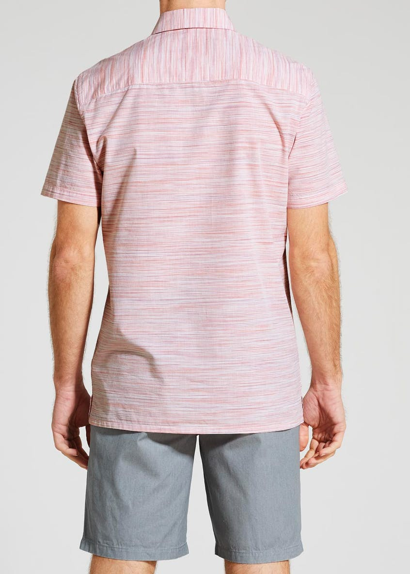 Space Dye Short Sleeve Shirt