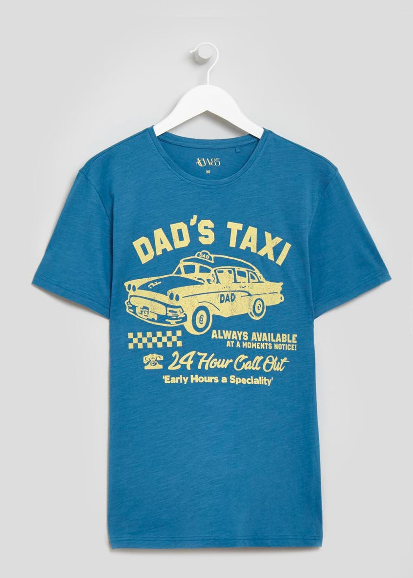 Dad's Taxi Slogan T-Shirt