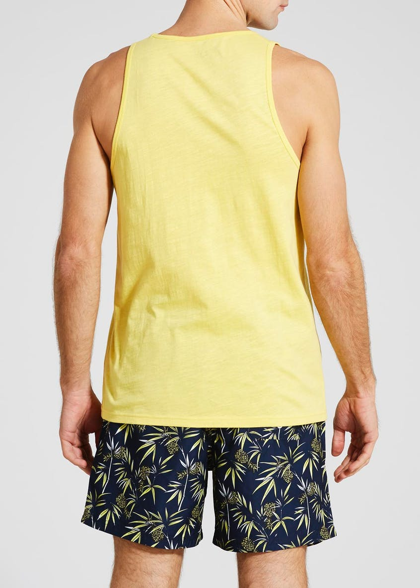 Miami Beach Graphic Vest