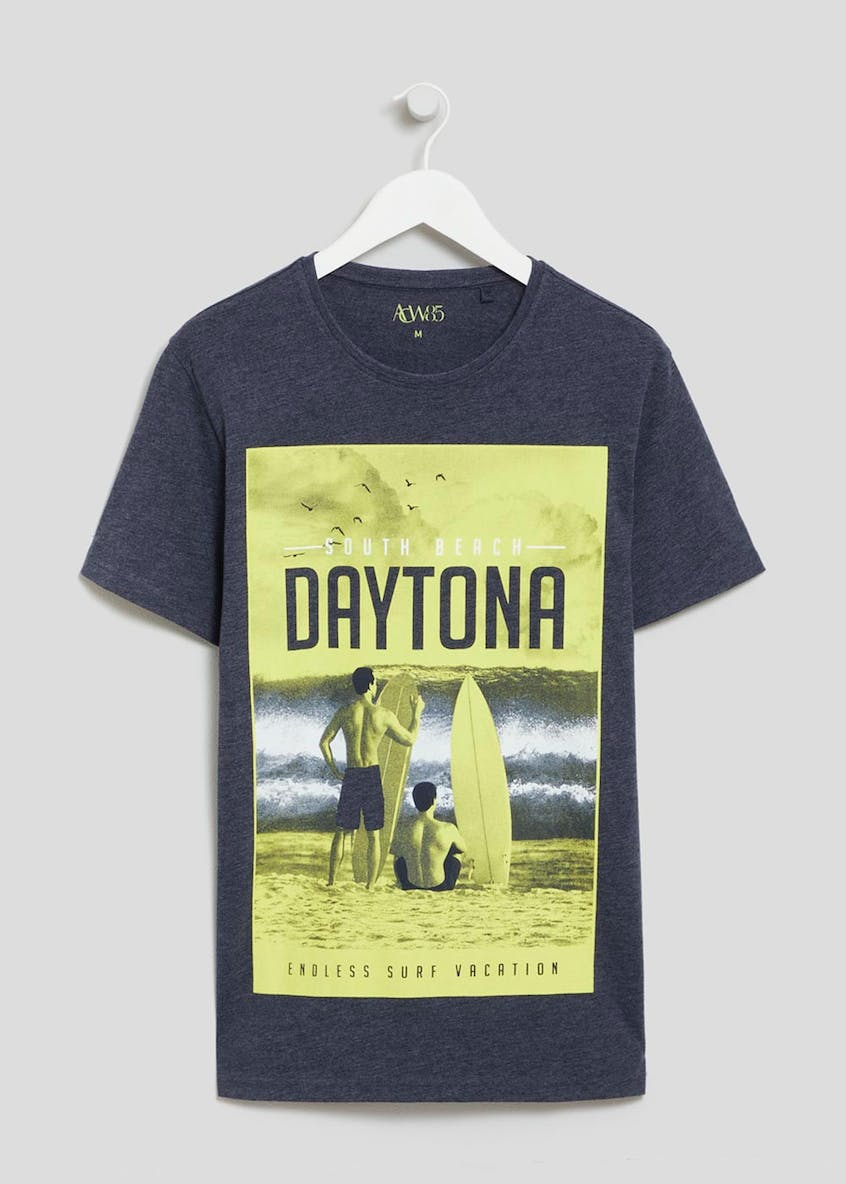 Daytona Graphic Print T-Shirt