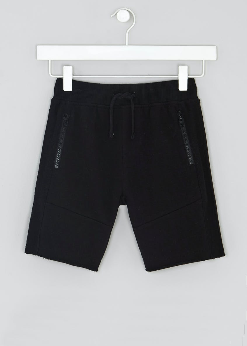 Boys Zip Pocket Jogging Shorts (4-13yrs)